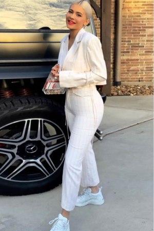 Kylie Jenner Flare Pants Set