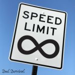 no speed limit eternity sign