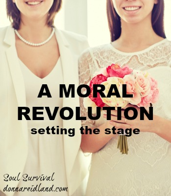 Homosexuality: Setting the Stage for a Moral Revolution