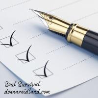 checklist inventory