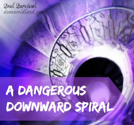 A Dangerous Downward Spiral - Unwillingness to accept and believe the truth can start an individual or a society on a downward spiral of sin. Sadly, it's not a lack of truth, instead people suppress the truth because they just don't want to hear it.
