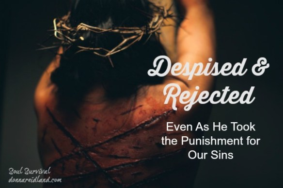 "Despised & Rejected - ""He is despised and rejected by men, a Man of sorrows and acquainted with grief."""