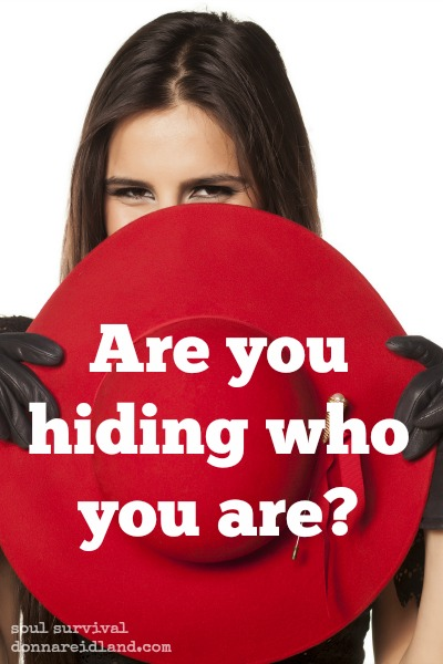 Are you hiding who you are? - In today's reading, one young woman traveled hundreds of miles on camel back to meet her future husband. He must have been waiting expectantly to see her, but as they approached, she covered herself with a veil. Today, if we wear veils at all, it's part of a traditional wedding outfit or a fashion statement, but that doesn't mean we aren't still hiding who we really are. It may be in a dating relationship or a social situation or in the business world.