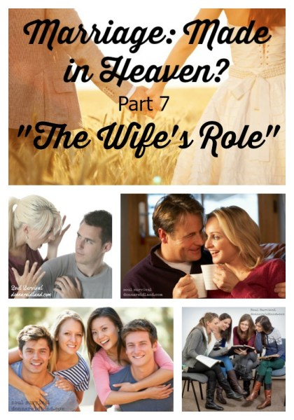 "Marriage: Made in Heaven? Part 7 ""The Wife's Role"" - The Wife's Role: If there is one aspect of marriage that is often turned upside-down in today's culture, it's the roles of husbands and wives. If there's one issue that is usually part and parcel of marriage conflict, it's the roles of husbands and wives. If there is one subject that is most often misunderstood, it's this one."