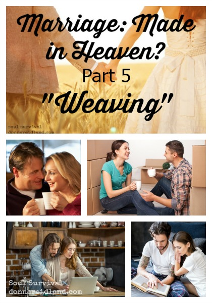 "Marriage Made in Heaven? Part 5 ""Cleaving"" - Previously, we've looked at an overview of marriage and have been discussing the three components of marriage God laid out in Genesis 2.24 and other places in Scripture: leaving, cleaving, and what we're calling ""weaving,"" growing in a one-flesh relationship. Today we'll focus on ""weaving."""
