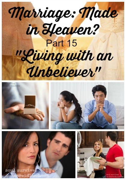 "Marriage: Made in Heaven? Part 15 ""Living with an Unbeliever"" - Many believers find themselves married to unbelievers who have no interest in the things of God. While it can be challenging, God didn't leave us without instructions for such situations."