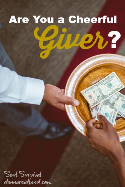 Giving: Are You a Cheerful Giver?