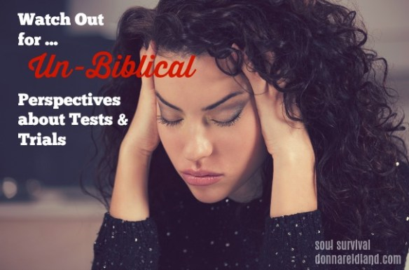 Handling Tests & Trials Biblically: The Divine Squeeze - Today we're going to begin talking about how to handle tests and trials. We'll look at both biblical and unbiblical perspectives on them, God's purposes for trials and how we should respond.