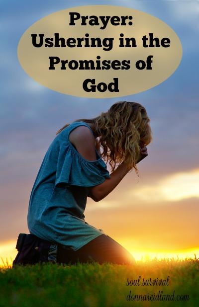 Prayer: Ushering in the Promises of God #prayer #promises of God #revival