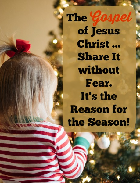 Wish You Could Share the Gospel without Fear? #gospel #reasonfortheseason #JesusChrist #evangelism #Christmas