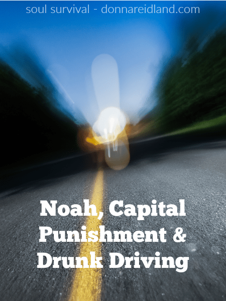 Noah, Capital Punishment & Drunk Driving - The Bible calls Noah a righteous man, yet he was barely off the ark before he had sinned by getting drunk. Two of his sons responded righteously, but one did not. What does the Bible say about drunkenness and how does that apply to the sin of drunk driving today. How should we respond to the sins of others, in general, especially those closest to us? #drinking #dui #noah #consequences