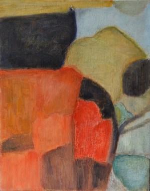 """Mountain View,"" Oil on Canvas, 14""x11"""