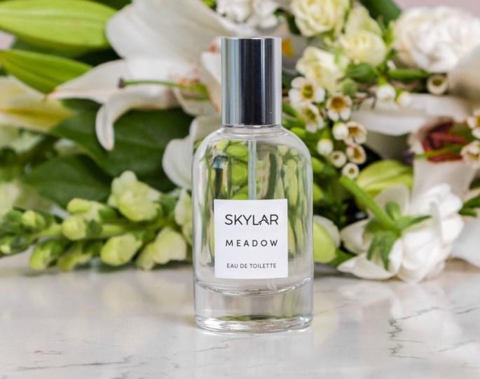 skylar perfume bottle meadow