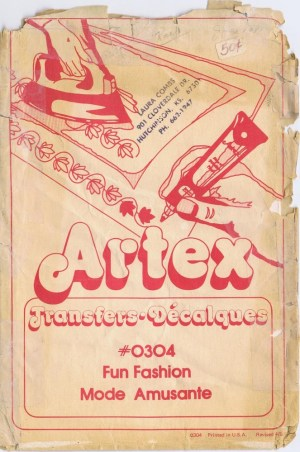Artex Transfers #0304 Fun Fashion