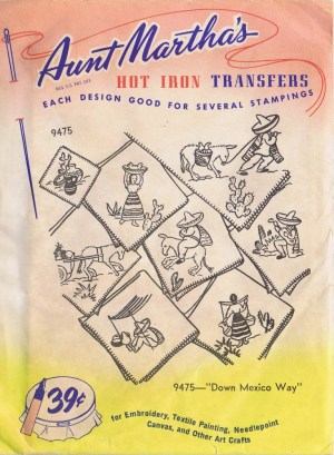 Aunt Martha's Hot Iron Transfers 9475