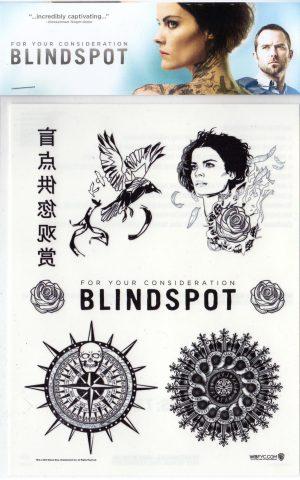 Blindspot Temporary Tattoos