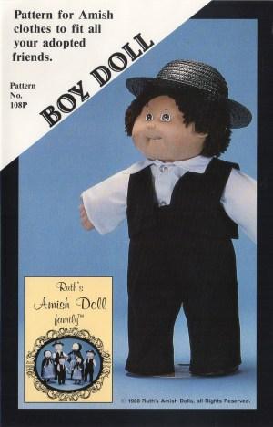Amish Boy Doll