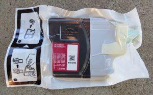 Brother LC61M printer cartridge in Magenta