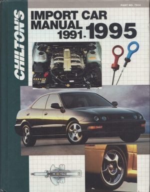 Chilton's Import Car Repair Manual