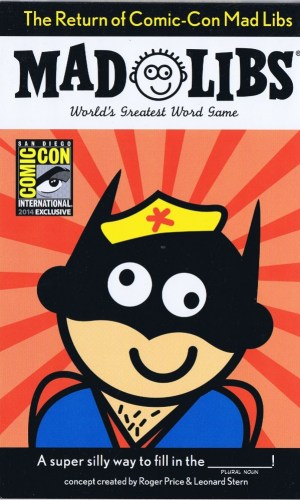Mad Libs - 2014 Comic-Con Exclusive
