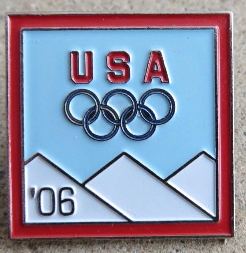 2006 Olympics Pin