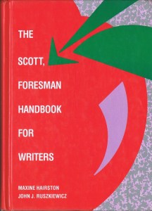 The Scott, Foresman Handbook for Writers
