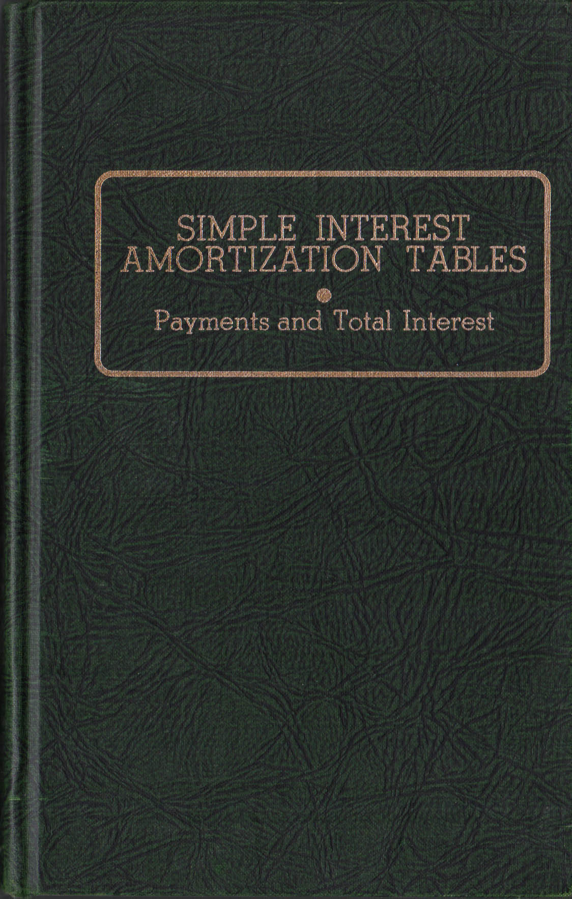Simple Interest Amortization Tables Payment And Total
