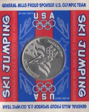 Ski Jumping Coin