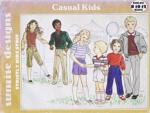 Sunrise Designs #C166 - Casual Kids