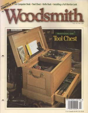 Woodsmith, Vol. 19 / No. 109