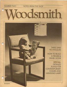 Woodsmith, No. 2, March 1979