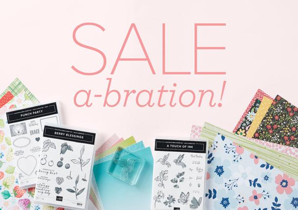 Hello Hello! Sale-bration, Classes, and More!