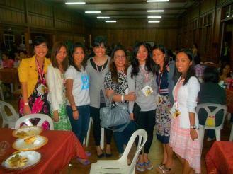 Newly found friends from CVCYC (Cebu delegates)