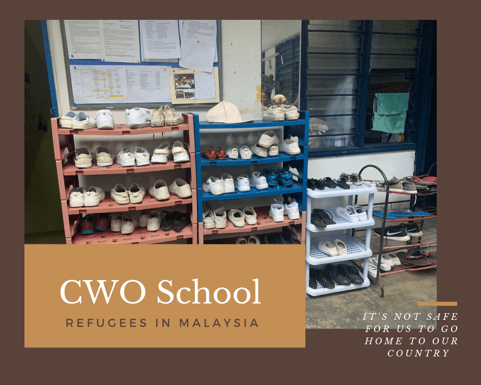 The CWO School in Kuala Lumpur teaches refugee children who cannot attend public school.
