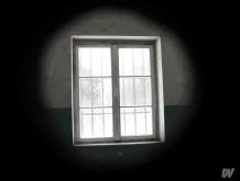 Visione dallo spioncino della cella