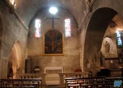 L'interno della Chiesa di Saint Vincent.