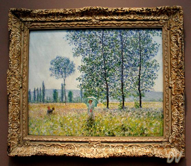 Campi in primavera - Claude Monet