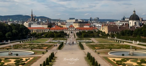 Vienna_Veduta del belvedere