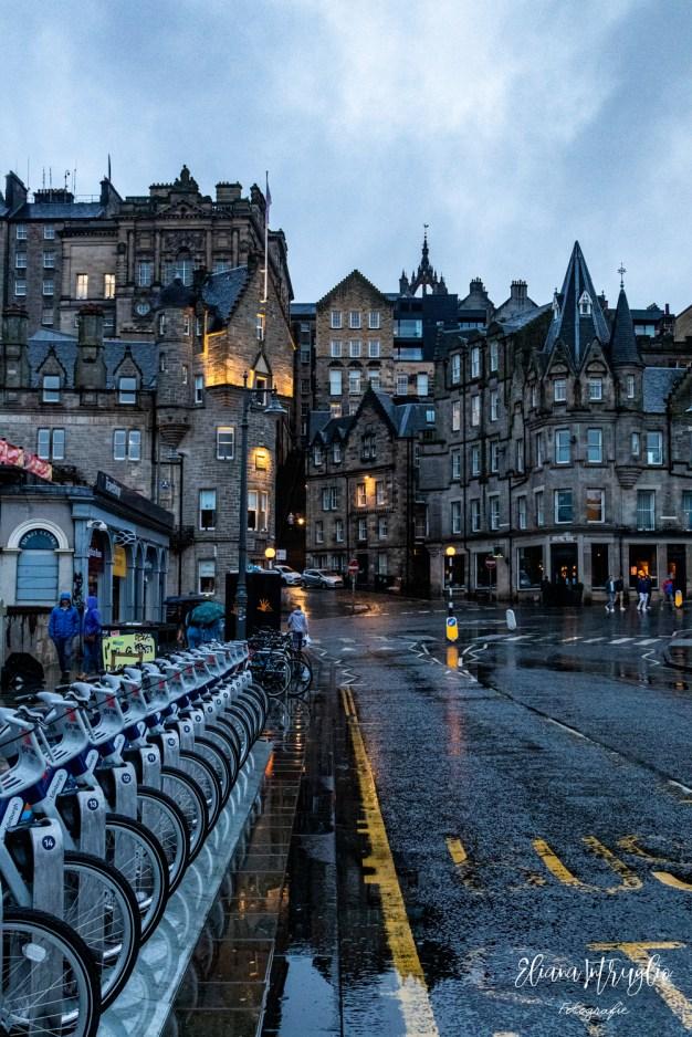 Edimburgo dopo la pioggia
