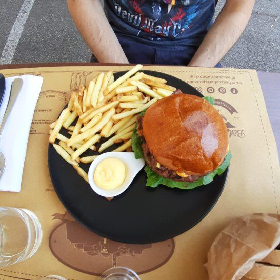 L'hamburger di Gabriele