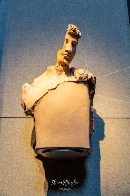 La statua di via Plasio