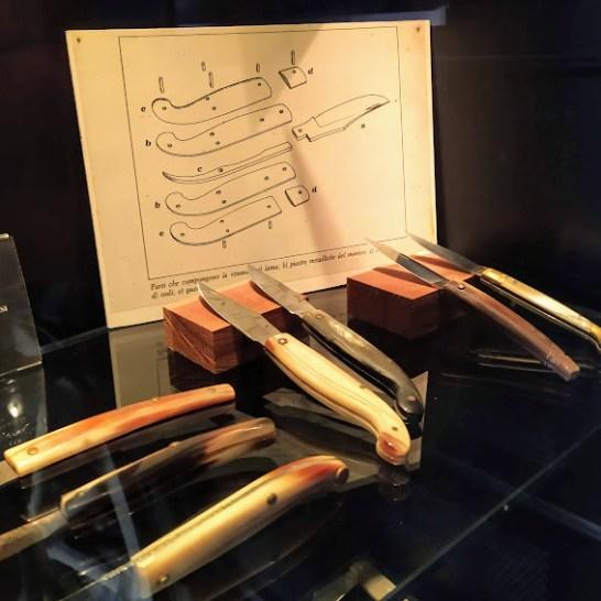 Produzione di coltelli a Scarperia