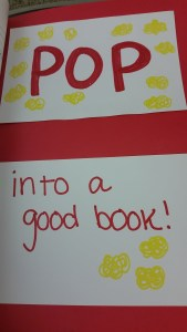 pop into a good book