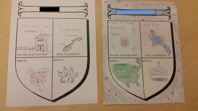 It was fun to see some of the cool symbols they came up with!