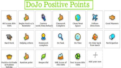 dojo points