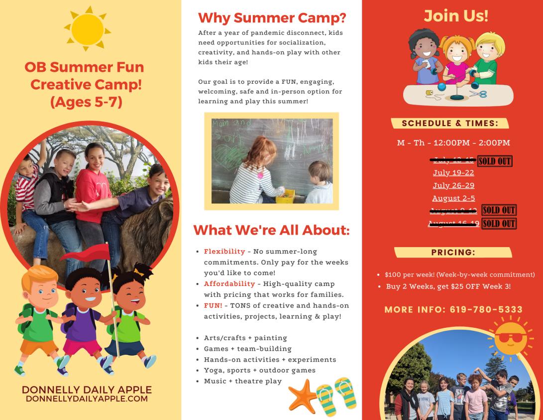 fun summer camp in san diego california
