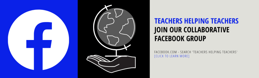 Teachers Helping Teachers - Facebook Group by Miss Donnelly's Daily Apple