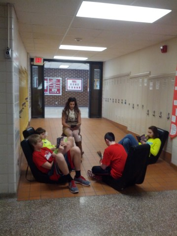 Small-group reading