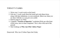 Task List: Making learning meaningful and applicable through an independent, at-your-own-pace Task List.