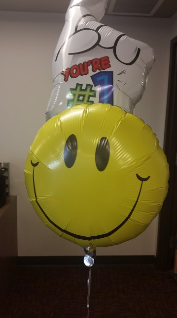 Balloons from my high schoolers!